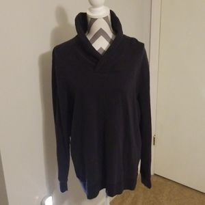 Chaps navy sweater mens size Large